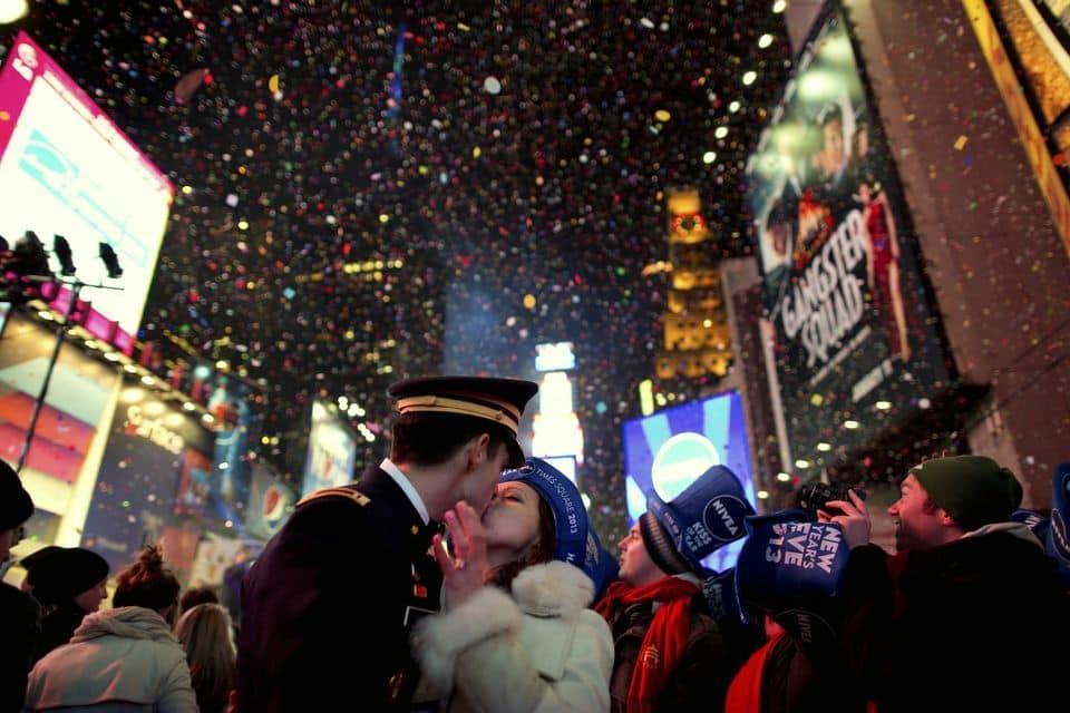 时代广场新年夜