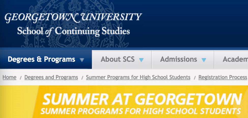 Summer School 夏校