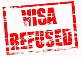 美国签证拒签