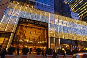 Trump Tower, Christmas, Manhattan, New York City, New York, USA