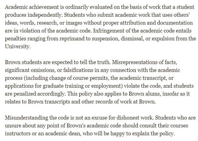 据说是常春藤联盟中最特立独行的存在,布朗大学的学术制度可不是说着玩的!