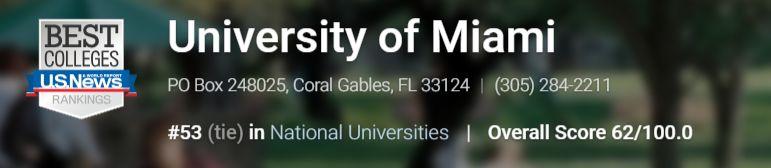 【University of Miami 迈阿密大学 学术制度指南】