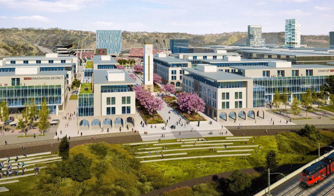 加州这所大学的商学院是全美五大商学院之一