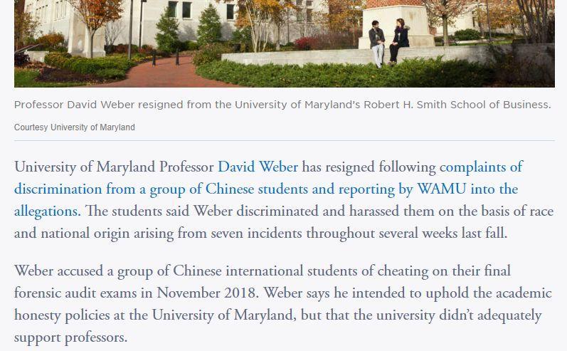 """美国大学教授""""怼""""中国留学生集体作弊???"""