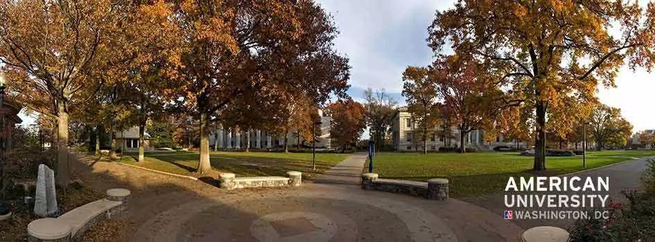 """为响应美国总统乔治·华盛顿建立一所""""国家大学"""",于是有了它……"""