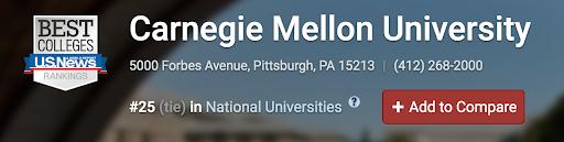 转学指南-美国卡耐基梅隆大学Carnegie Mellon University