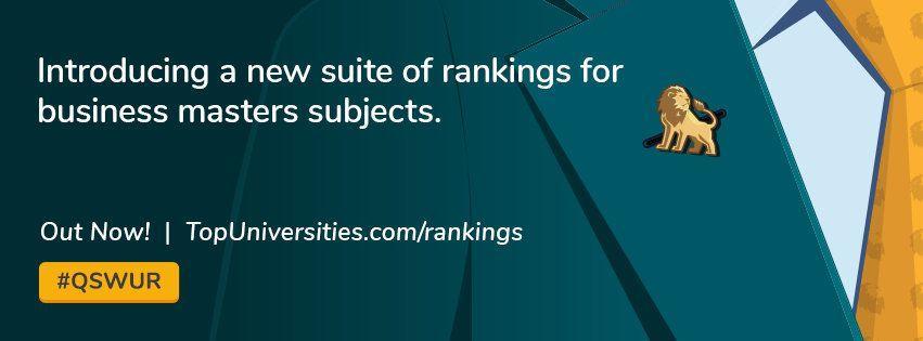 QS又来啦!2020全球MBA和商科硕士排名走起!