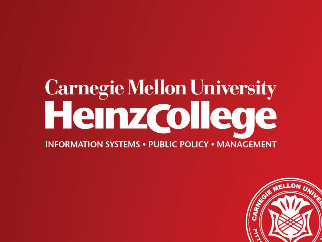 带你走进CMU Heinz College招生说明会!